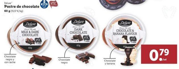 Oferta de Postre de chocolate Deluxe por 0,79€
