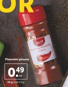 Oferta de Pimentón picante por 0,49€
