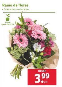 Oferta de Ramo de flores por 3,99€