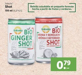 Oferta de Shot Solevita por 0,79€