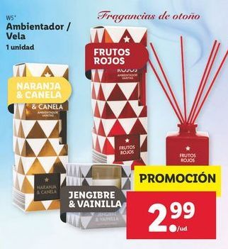 Oferta de Ambientador/ vela W5 por 2,99€