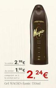 Oferta de Gel de baño Magno por 2,99€
