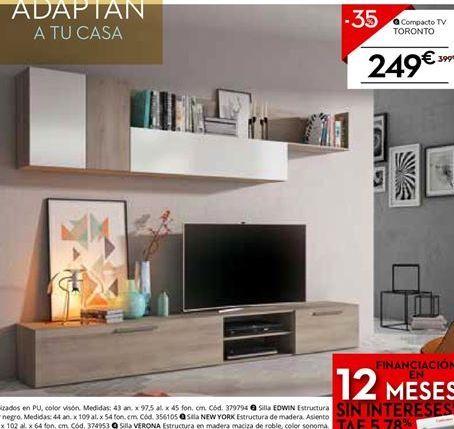 Oferta de Mueble  tv toronto  por 249€