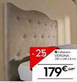 Oferta de Cabecero verona por 179€