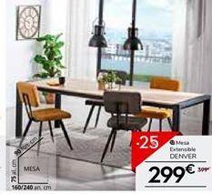 Oferta de Mesa extensible Denver por 299€