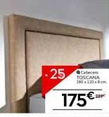 Oferta de Cabecero 160 cm TOSCANA por 175€