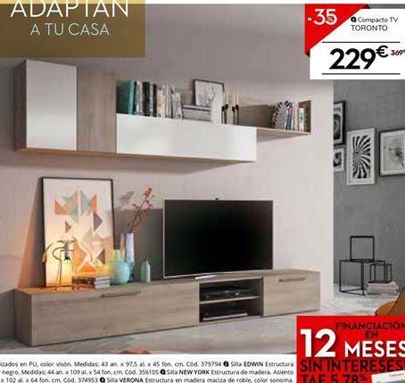 Oferta de Mueble  tv toronto  por 229€