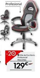 Oferta de Silla de escritorio profesional RACING por 129€