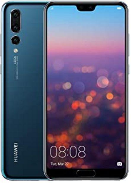 "Oferta de Huawei P20 Pro – Smartphone de 6,1"" (Kirin 970 AI, 6G de RAM, 128 GB de memoria interna, Triple Cámara Leica) Android, 8.1... por 309,99€"