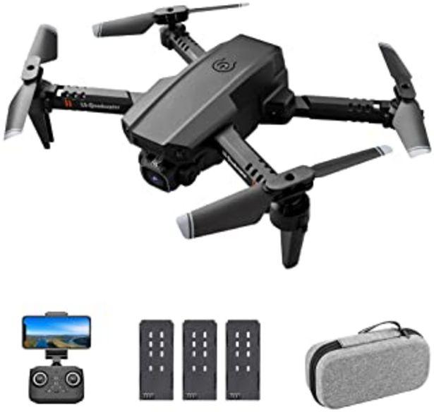 Oferta de GoolRC LS-XT6 RC Drone con Cámara 4K Drone Cámara Dual Track Vuelo Sensor de Gravedad Gesto Foto Video Altitud Modo sin Ca... por 46,99€
