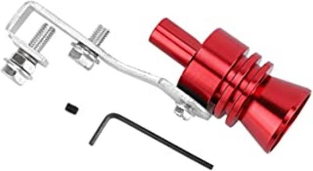 Oferta de Fansport Turbo Whistle, Simulador de Válvulas Accesorios para Tubos de Escape de Coches Turbo Sound Whistle, rojo por 10,89€