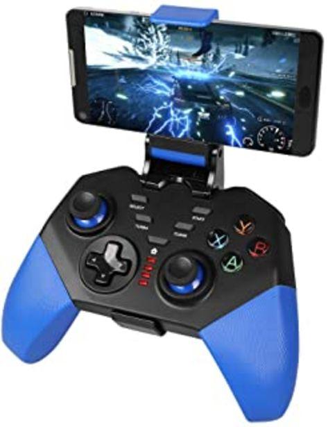 Oferta de Mando Inalámbrico para Android, PowerLead Mobile Gamepad para Turbo Combo Mapeo de teclas Controlador de juegos móvil para... por 24,99€