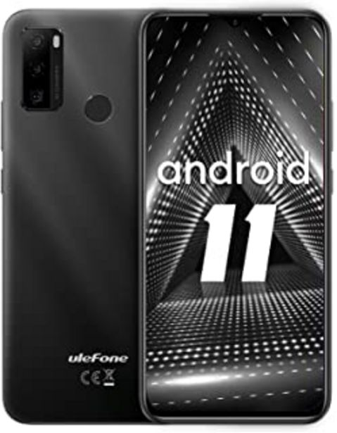 Oferta de Teléfono Móvil Libres, Ulefone Note 10 4G Android 11 Octa-Core 6.52'' HD+ Smartphone Libre, Batería 5500mAh, 2GB RAM 32GB ... por 101,99€