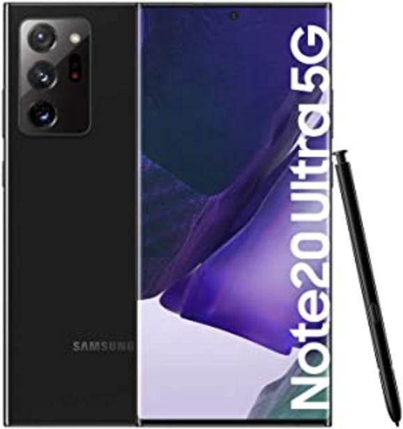 """Oferta de Samsung Galaxy Note20 Ultra 5G Smartphone Android Libre de 6.9"""" 256GB, Negro (Mystic Black) [Versión española] por 919€"""