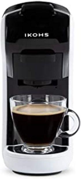 Oferta de CREATE IKOHS Máquina de Café Espresso Italiano - Cafetera Multi Cápsulas Compatible Nespresso 3 en 1, 19 Bares con 2 Progr... por 86,6€