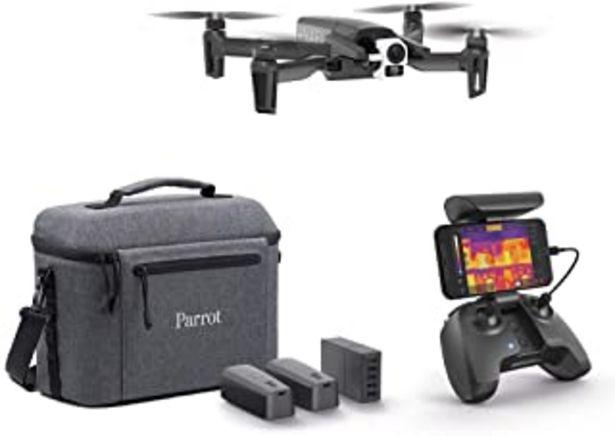Oferta de Parrot PF728120 Dron Térmico 4K Anafi Thermal 2 Cámaras de Alta Precisión Cámara Térmica de -10 °C A +400 °C + Cámara 4K H... por 2196,62€