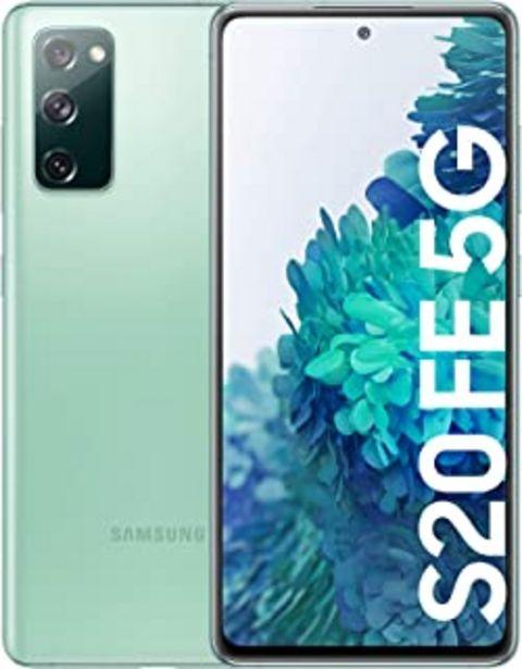 Oferta de SAMSUNG Galaxy S20 FE 5G - Smartphone Android Libre, 256 GB, Color Verde [Versión española] por 699€