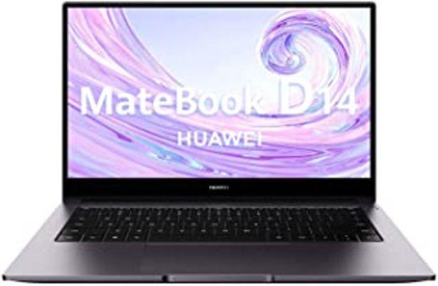 "Oferta de Huawei Matebook D14 - Ordenador Portátil Ultrafino de 14"" FullHD (Intel Core i5-10210U, 8GB de RAM, 512GB SSD, NVIDIA GeFo... por 689,99€"