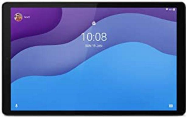 """Oferta de Lenovo Tab M10 HD (2ª generación) Tablet, Pantalla 10.1"""" HD, procesador MediaTek Helio P22T, Almacenamiento 64 GB Ampliabl... por 209,33€"""