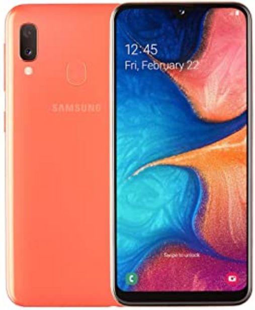 Oferta de Samsung Galaxy A20e Smartphone (14,82 cm (148,2 mm) 5,8 Pulgadas, 32 GB de Memoria Interna, 3 GB de RAM, Dual SIM, Coral) ... por 144,26€