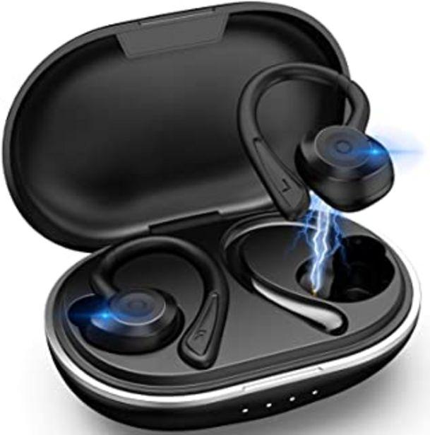 Oferta de Muzili Auriculares Bluetooth Deportivos V5.0 IPX7 Impermeable Auriculares Bluetooth Inalambricos Movil 36H Tiempo de Repro... por 36,79€