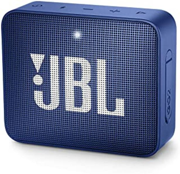 Oferta de JBL GO 2 - Altavoz inalámbrico portátil con Bluetooth, resistente al agua (IPX7), hasta 5 h de reproducción con sonido de ... por 23,9€