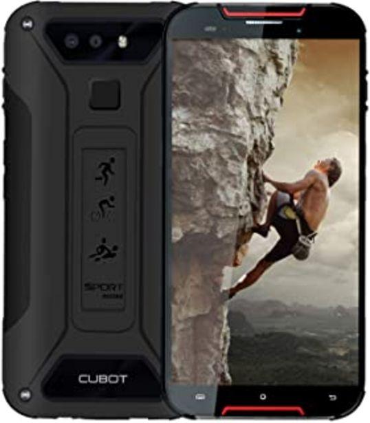 Oferta de CUBOT Quest Lite 4G IP68 Móvil Todorerreno para Viajes o Deporte Smartphone Impermeable Botón Personaliado 3GB RAM 5.0 Pul... por 87,99€
