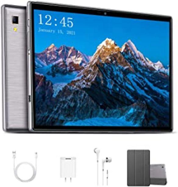 Oferta de Octa Core 2.3 GHz Ultrar-Rápido Tablet para Juegos 10 Pulgadas 4G LTE Android 9.0 Pie【2020 Certificación Google GMS】 4GB R... por 139,99€