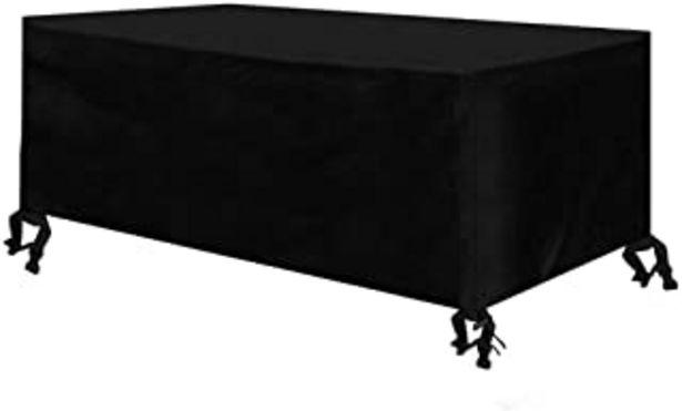 Oferta de Osarke - Funda para muebles de jardín (impermeable, rectangular, para exteriores, 420D, Oxford, 180 x 120 x 74 cm), color ... por 23,99€