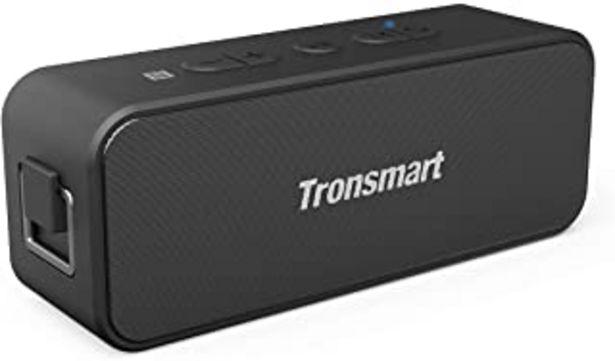 Oferta de Tronsmart T2 Plus Altavoz Bluetooth 20W, Altavoz Portátil Impermeable IPX7, 24 Horas de Reproducción, Sonido Estéreo TWS, ... por 31,99€