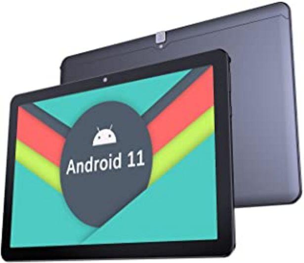 Oferta de Tablet 10 Pulgadas Android 11.0 - YUMKEM U221 Tableta,4GB RAM + 64GB ROM,WiFi, 1280 * 800 HD,5000mAh, Cámara Dual 5.0+2.0M... por 109,99€