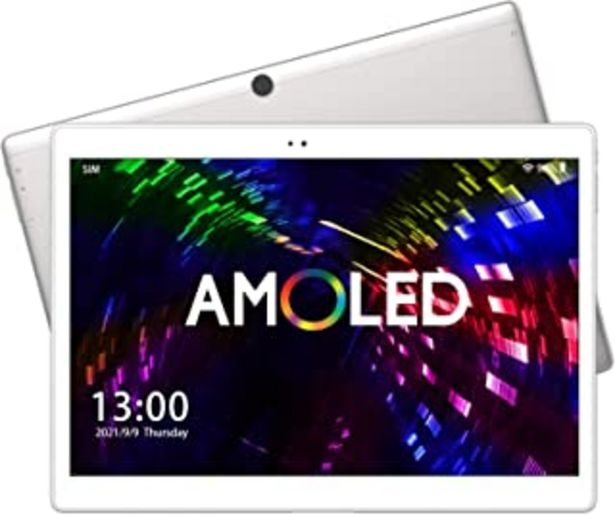 Oferta de ALLDOCUBE X Neo 4G Tableta, Pantalla Super AMOLED de 10.5 Pulgadas 2560×1600, CPU Qualcomm Snapdragon 660, 4GB RAM, 64GB R... por 199,99€