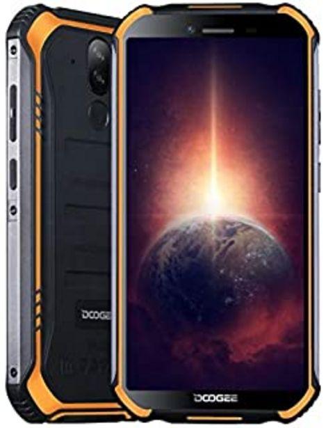 Oferta de Móvil Resistente DOOGEE S40 Pro 【4GB RAM 64GB ROM】, IP68 Teléfono Libre Antigolpes Android 10, Helio A25 Octa Core, Pantal... por 139,99€