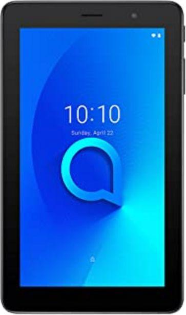 "Oferta de Tablet Alcatel Negro 1T 7"" Wi-Fi, MEMORIA 1+16GB, CAMARA, WIFI, BLUETOOTH por 56,5€"