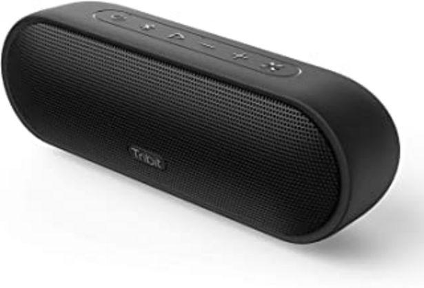 Oferta de Tribit MaxSound Plus - Altavoz Bluetooth, 24 W, con Potente Sonido, XBass, protección IPX7 Resistente al Agua, 20 Horas, A... por 44,79€