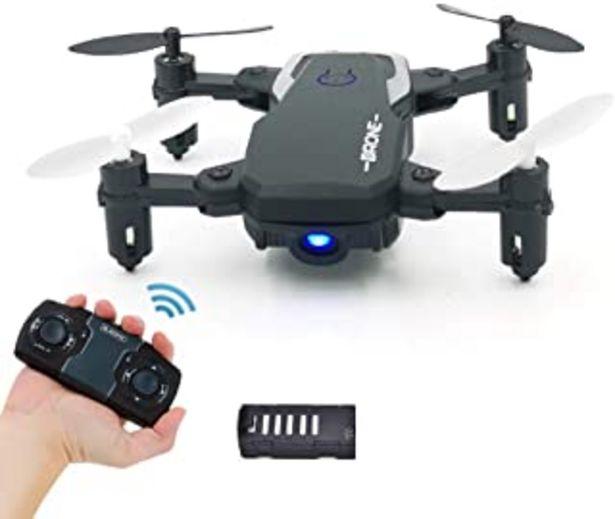 Oferta de 0BEST Juguetes Mini Dron Plegable para Niños, RC Quadcopter por 2.4GHz Control Remot , Control de Altitud, Regreso con un ... por 29,99€