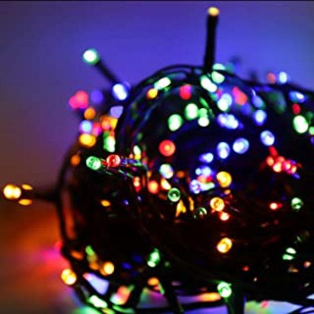 Oferta de Salcar 23m 360 Leds Cadena de Luces IP44 Impermeable, LED Luz Cadena Ligera Navidad, Led Cadena luminosa con 8 Modos, Led ... por 19,99€