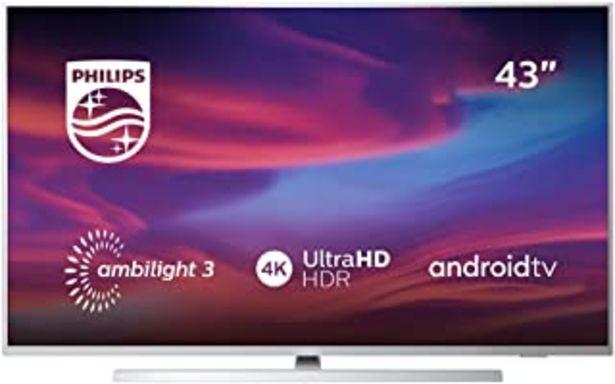 "Oferta de Philips 43PUS7304/12 Ambilight - Televisor Smart TV 43 "" (108 cm) con 4K UHD, LED TV, HDR 10+, Android TV, Google Assistan... por 489,99€"