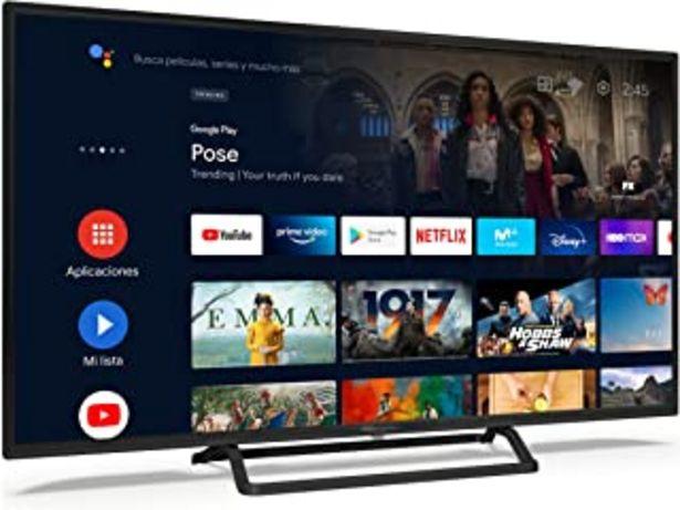 Oferta de TD Systems K40DLX14GLE Hey Google Model 2021 - Televisores Smart TV 40 Pulgadas Full HD con Google Chromecast built-in, Co... por 279€