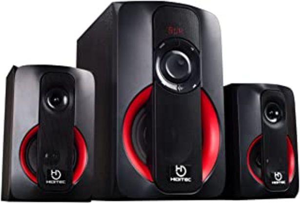 Oferta de Hiditec   Potentes Altavoces H400 80W RMS   Altavoz con USB   Altavoz con Radio FM  Sistema de Sonido 2.1 (Bluetooth 4.1, ... por 56,55€