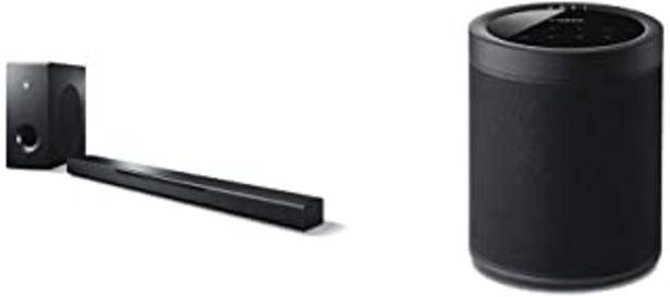Oferta de Yamaha - Barra de Sonido Music Cast Bar 400 + Yamaha MusicCast 20 - Altavoz, Color Negro por 549€