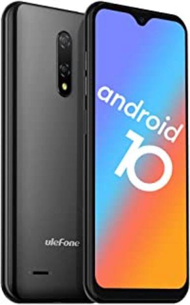 "Oferta de Teléfono Móvil Libres 4G, Ulefone Note 8P Android 10 Smartphone Libre, 2GB RAM 16GB ROM (128 GB SD), Pantalla 5.5"" HD+ Mov... por 74,99€"