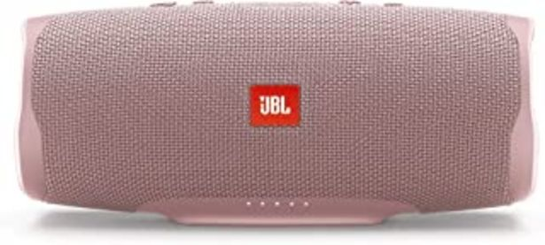 Oferta de JBL Charge 4 - Altavoz inalámbrico portátil con Bluetooth, parlante resistente al agua (IPX7), JBL Connect+, hasta 20 h de... por 124€