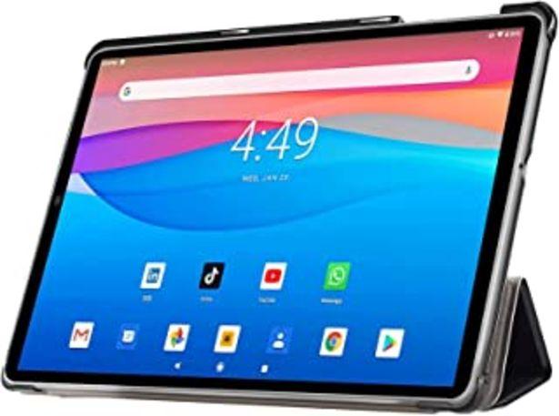 Oferta de Tablet 10.1 Pulgadas 4G Android 10.0 Quad Core DUODUOGO G20 Tablet 4GB RAM 64GB ROM/128GB Escalables 8000mAh Doble SIM/Cám... por 122,66€