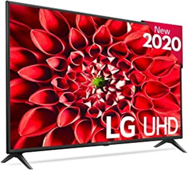 "Oferta de LG 55UN7100 - Smart TV 4K UHD 139 cm (55"") con Inteligencia Artificial, HDR10 Pro, HLG, Sonido Ultra Surround, 3xHDMI 2.0,... por 449,99€"