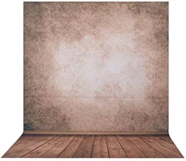 Oferta de Telón de Fondo de la Foto, 1.5 x 2 m BDDFOTO paño de fotografía de Fondo de fotografía Profesional, telón de Fondo de Colo... por 13,99€
