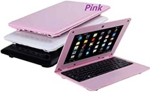Oferta de BIGMAC Computadora portátil de 10.1 pulgadas,Android 6.0,computadora portátil de cuatro dígitos,8 GB con una cámara web Wi... por 149€