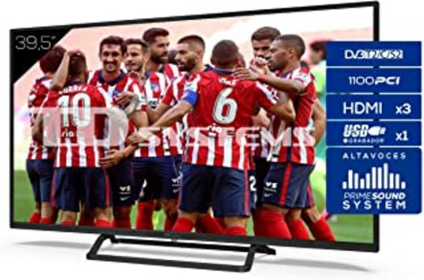 Oferta de TD Systems Televisor 3X HDMI, VGA, USB, 1100 PCI Hz, Grabador Reproductor, DVB-T2/C/S2 Modo Hotel - K40DLX11F 40 Pulgadas por 209€