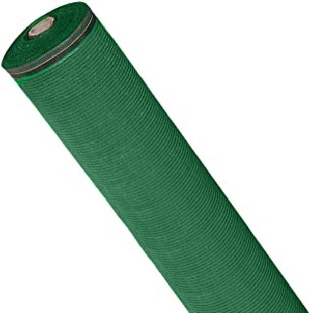 Oferta de Malla Sombreo 90%, Rollo 1 x 10 metros, Reduce Radiación, Protección Jardín y Terraza, Regula Temperatura, Color Verde Claro por 12,17€