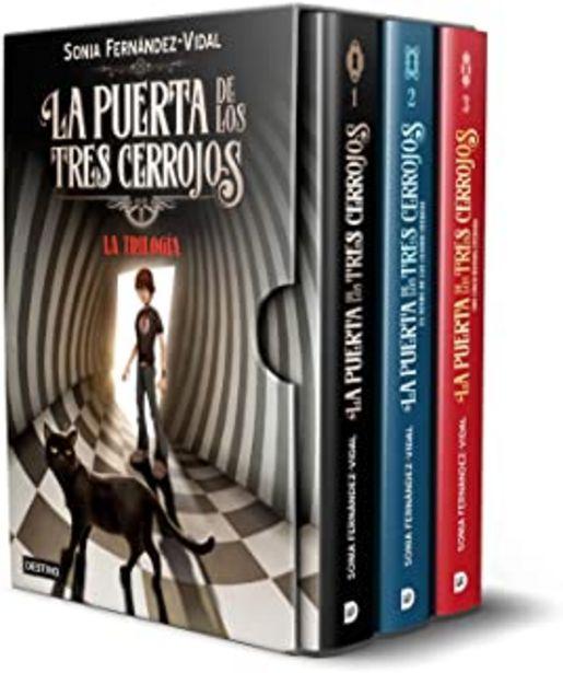 Oferta de Estuche trilogía La puerta de los tres cerrojos (Isla del Tiempo) por 42,61€